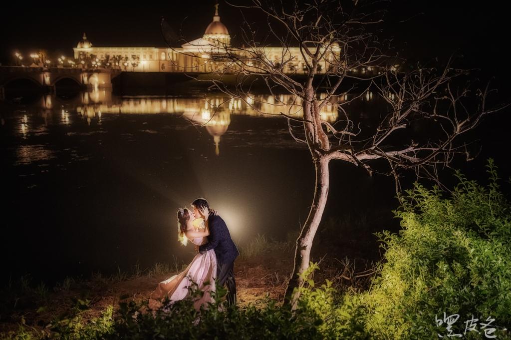 奇美博物館 婚紗 夜景