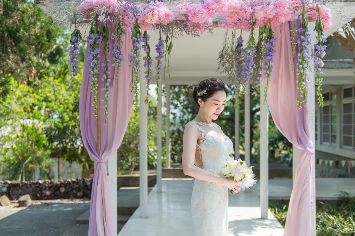 【戶外西式婚禮】高雄橋頭白屋 最棒的戶外場地