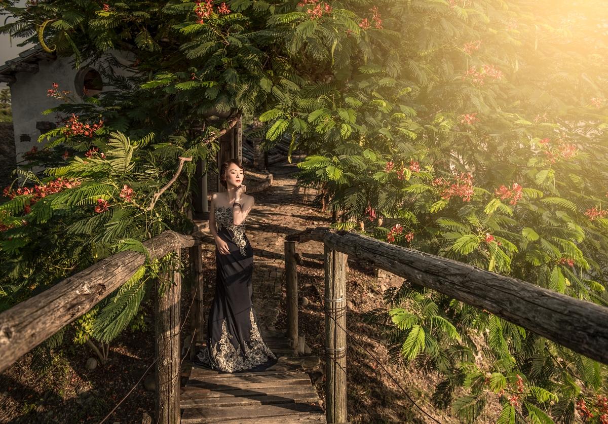 【婚紗創作】嘿皮爸 x Misa 老塘湖的景好適合拍古裝和穿越時空劇啊!~