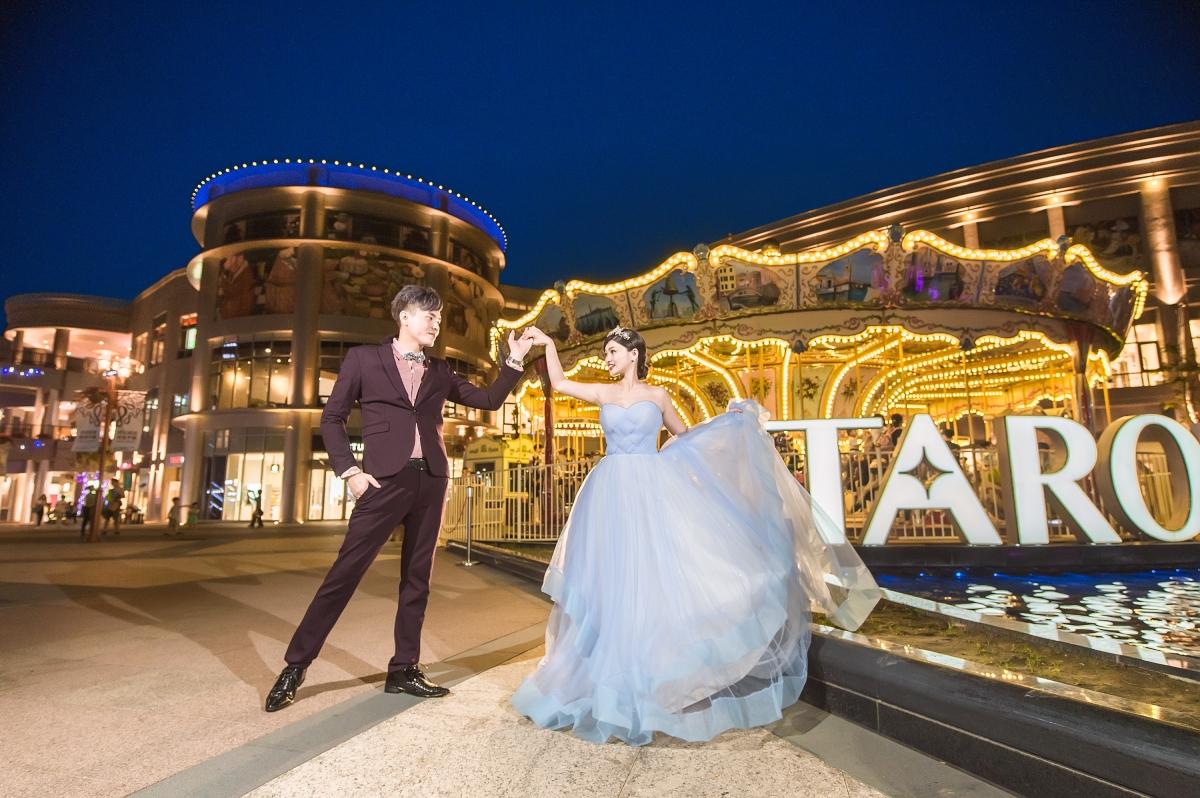 【自助婚紗】 高雄草衙道~~嶄新的婚紗拍攝景點!~~絢麗的夜晚美呆了!~~