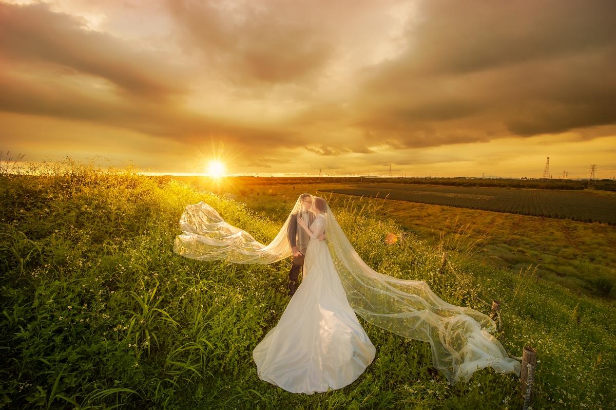 【國內自助婚紗】嘿皮爸 x 白色婚禮手工婚紗 x 如真 屏東 屏東書院 森林 海邊