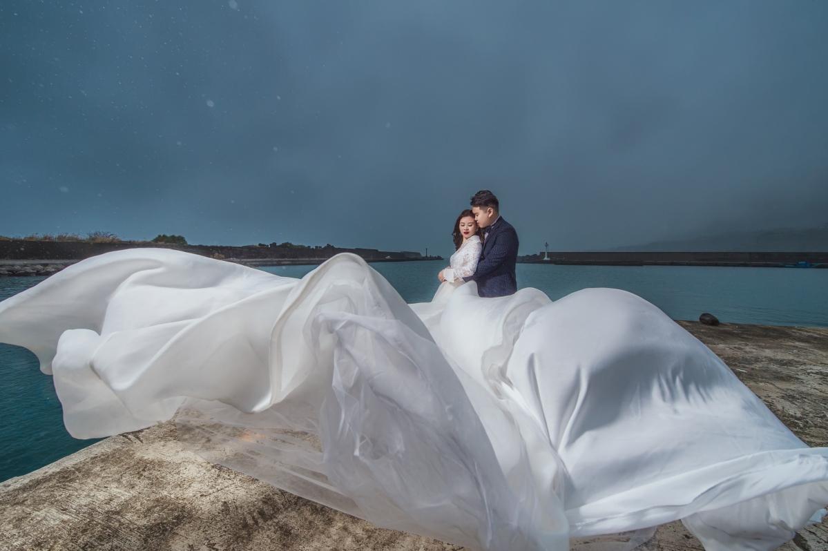【國內自助婚紗】嘿皮爸 X白色婚禮手工婚紗 X 如真娘娘 台東婚紗/大景婚紗