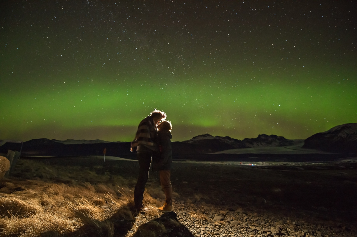 [Oversea Prewedding iceland冰島海外婚紗]冰島--極光aurora爆發的一天/ 藍冰洞Ice Cave/飛機殘骸plane wreck