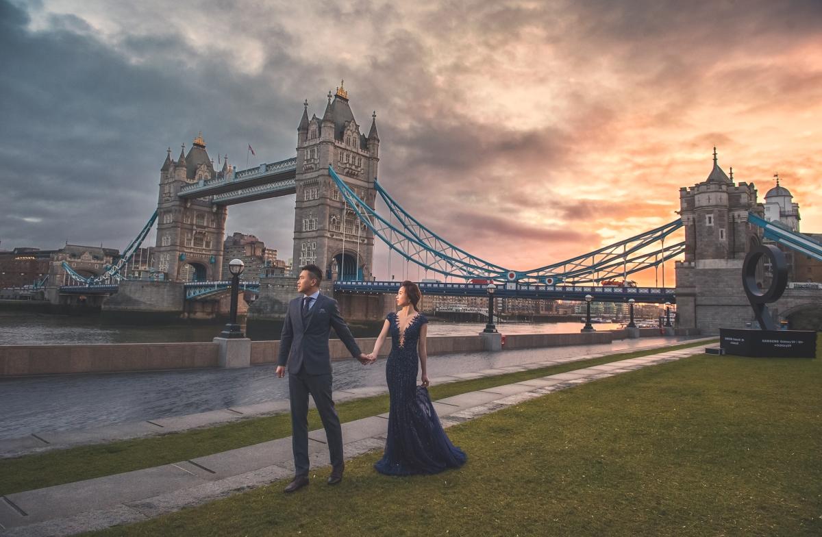 [Oversea prewedding 英國倫敦海外婚紗] 嘿皮爸 x W Wedding UK x Ariel 音樂與蘇格蘭服的浪漫邂逅