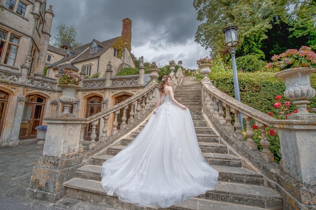[海外婚紗-英國 倫敦郊區] Bibury / Castle Combe 倫敦郊區的寧靜與悠閒