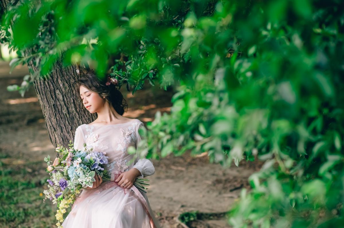 W Wedding時尚婚紗 x 嘿皮爸 x Emily造型 仙氣婚紗 每個女孩都可以擁有成為仙女的一面