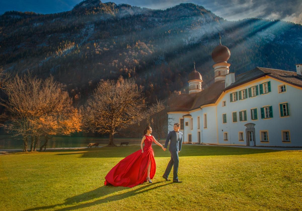 [海外婚紗搶先看-德國 國王湖]嘿皮爸 x 邦妮 x Whitedding白色婚禮