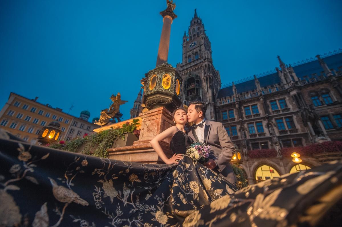 [海外婚紗搶先看-德國 慕尼黑 國王湖]嘿皮爸 x 邦妮 x Whitedding白色婚禮 德國海外婚紗 Germany