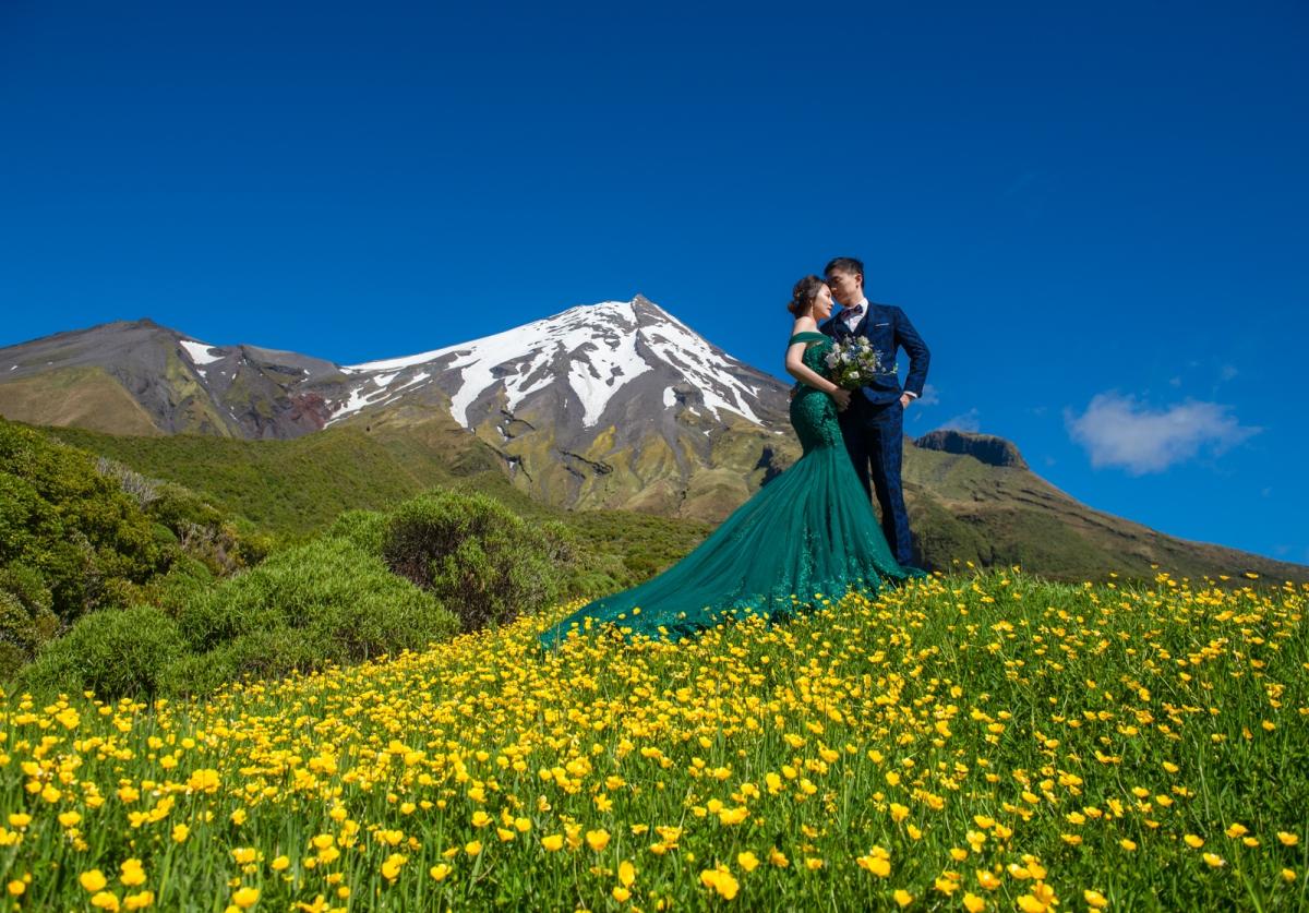 [海外婚紗-紐西蘭New Zealand北島]嘿皮爸 x 如真 x 白色婚禮手工婚紗  紐西蘭旅拍婚紗